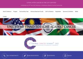globalcancersummit.com