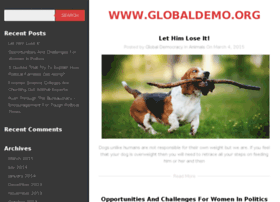 globaldemo.org