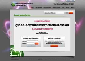 globaldomainsinternationalnow.ws