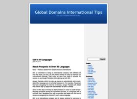 globaldomainsinternationaltips.com