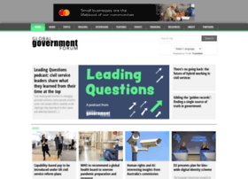 globalgovernmentforum.com