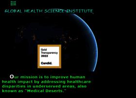 globalhealthscienceinstitute.org