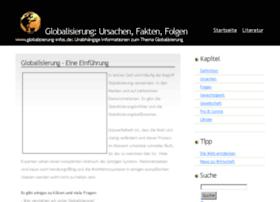 globalisierung-infos.de