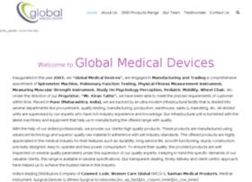 globalmedicaldevicesindia.com