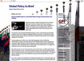 globalpolicyinbrief.blogspot.com