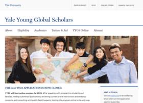 globalscholars.yale.edu