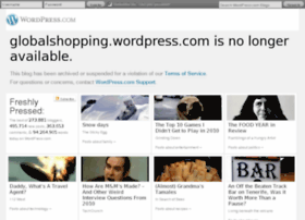 Globalshopping.wordpress.com