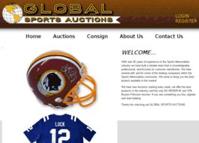 globalsportsauctions.com