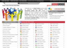 globaltenders.tradereader.com