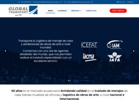 globaltransportecuador.com