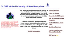 globe.unh.edu