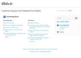 globein.uservoice.com