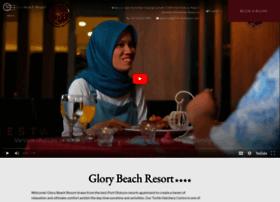 glorybeachresort.com