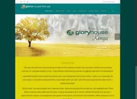 gloryhousekenya.org