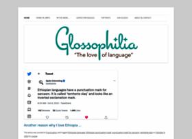 glossophilia.org