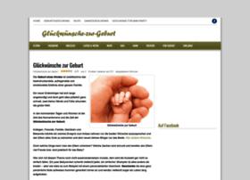 glueckwuensche-zur-geburt.net
