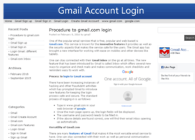 gmailaccountlogin.com