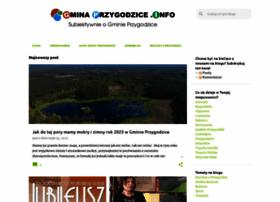 gminaprzygodzice.info