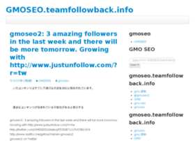 gmoseo.teamfollowback.info