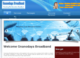 gnanodayabroadband.co.in