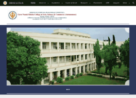 gnkhalsa.edu.in