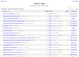 gnome-apps.13852.n7.nabble.com