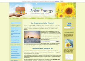 Go-green-solar-energy.com