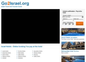 go2israel.org