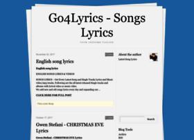 go4lyrics.tumblr.com