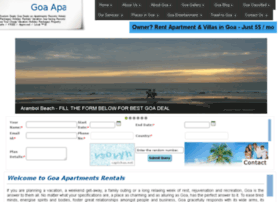 goaapartmentsrental.com