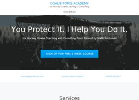 goalieforce.com