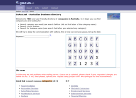 goaus.net