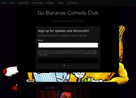 gobananascomedy.com