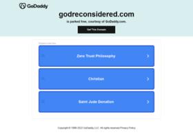 godreconsidered.com
