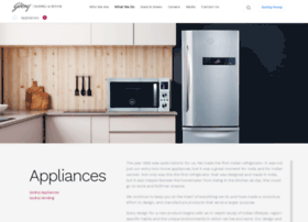 godrejappliances.com