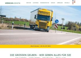 goedecke-logistik.de