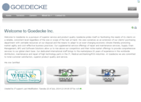goedecke.com