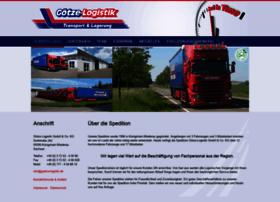 goetze-logistik.de