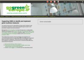 gogreeneurope.co.uk