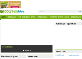 gogreenidea.com