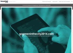 gogreeninthecity2014.com