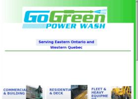 gogreenpowerwash.ca