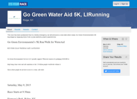 gogreenwateraid5k.itsyourrace.com
