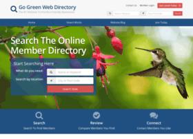 gogreenwebdirectory.com