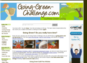 going-green-challenge.com