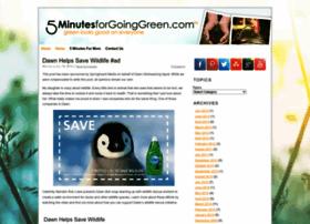 goinggreen.5minutesformom.com