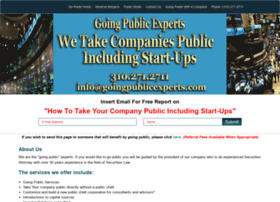 goingpublicexperts.com
