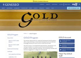 gold.geneseo.edu