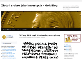 goldblog.pl