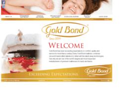 goldbondmattress.com